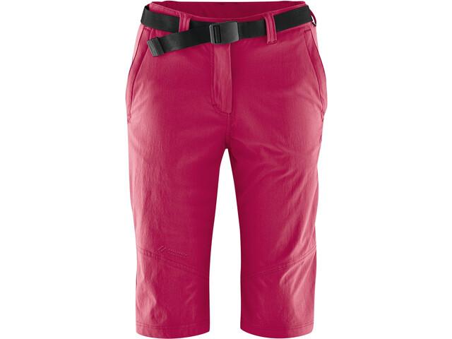 Maier Sports Lawa Bukser korte Damer, persian red